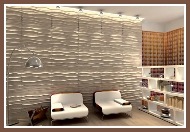 Стеновые 3D панели из МДФ  letostyleru